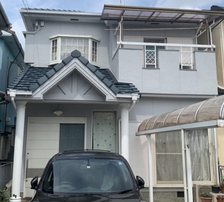 奈良大和高田市A様邸 外壁塗装・屋根塗装・防水工事 施工後の写真