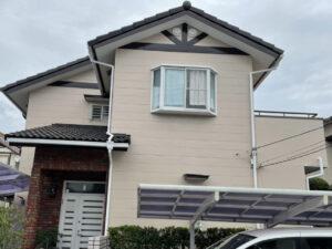 奈良北葛城郡上牧町M様邸 外壁塗装・屋根塗装・防水工事