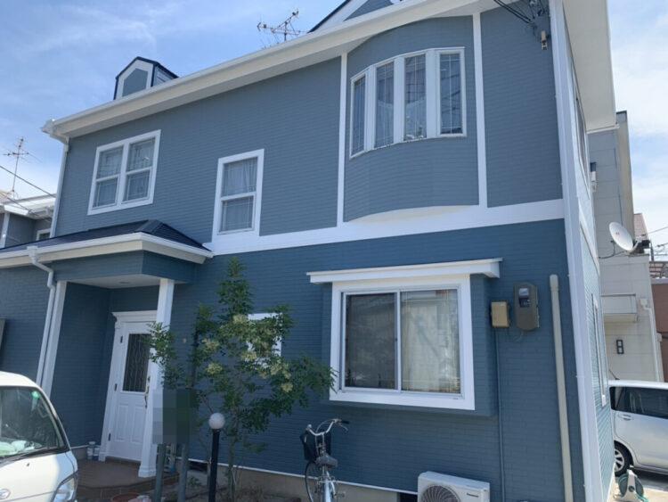 奈良香芝市F様邸 外壁塗装・屋根塗装・防水工事 施工後の写真