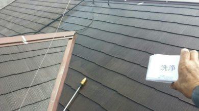 奈良香芝市K様 外壁塗装・屋根塗装・ベランダ防水工事 屋根洗浄