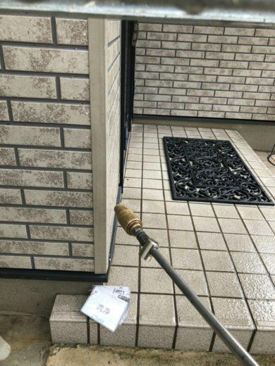 奈良大和高田市N様 外壁塗装・屋根塗装工事 高圧洗浄