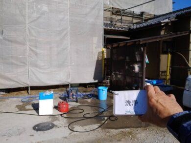 奈良香芝市F様 外壁塗装工事 高圧洗浄