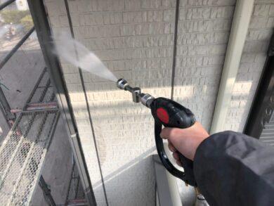 奈良北葛城郡上牧町M様 外壁塗装工事 高圧洗浄