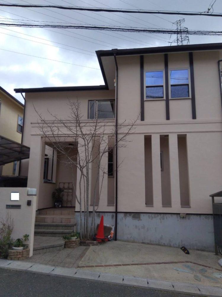 奈良の香芝市の株式会社ヨネヤの外壁塗装と屋根塗装の施工実績