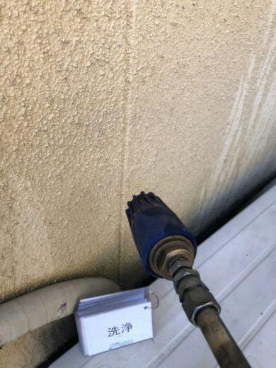 奈良香芝市T様邸 外壁塗装・屋根塗装・防水工事 高圧洗浄