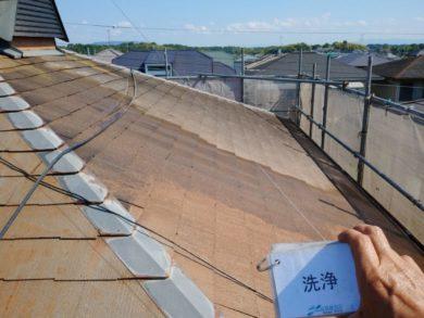 奈良香芝市Y様邸 外壁塗装・屋根塗装・外塀塗装 屋根高圧洗浄