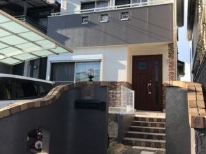 奈良県生駒市斑鳩町K様邸 外壁・屋根塗装工事