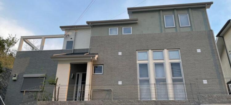 奈良県奈良市O様邸 外壁塗装・屋根塗装・防水工事 施工後の写真