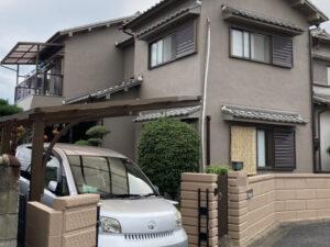 奈良御所市T様邸 外壁塗装・防水工事