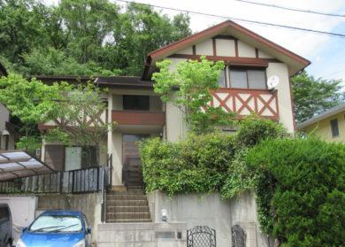 奈良県北葛城郡 T様邸 外壁・屋根・外塀塗装工事  施工前の写真
