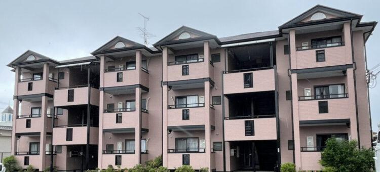 奈良の香芝市の株式会社ヨネヤの外壁塗装と屋根塗装の施工事例