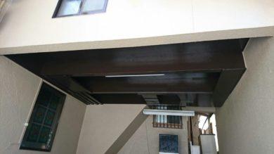 奈良香芝市T様 外壁塗装 木部塗装