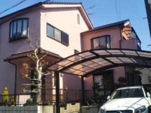 奈良北葛城郡上牧町H様邸 外壁塗装・屋根塗装・防水工事