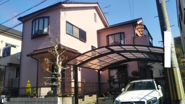 奈良北葛城郡上牧町H様 外壁塗装・屋根塗装・防水工事 施工後の写真