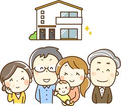 奈良の香芝市の株式会社ヨネヤの外壁塗装と屋根塗装の家族