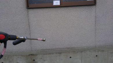 奈良香芝市F様 外壁塗装・外塀塗装 高圧洗浄