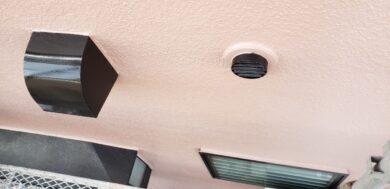 奈良北葛城郡上牧町H様 外壁塗装・屋根塗装・防水工事 換気フードフッ素仕上げ