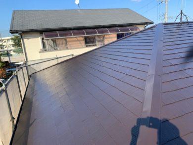 奈良香芝市I様邸 屋根塗装工事 完成