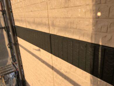 奈良北葛城郡上牧町M様 外壁塗装工事 帯塗装