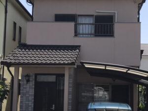 奈良北葛城郡上牧町Y様邸 外壁塗装・屋根塗装・防水工事