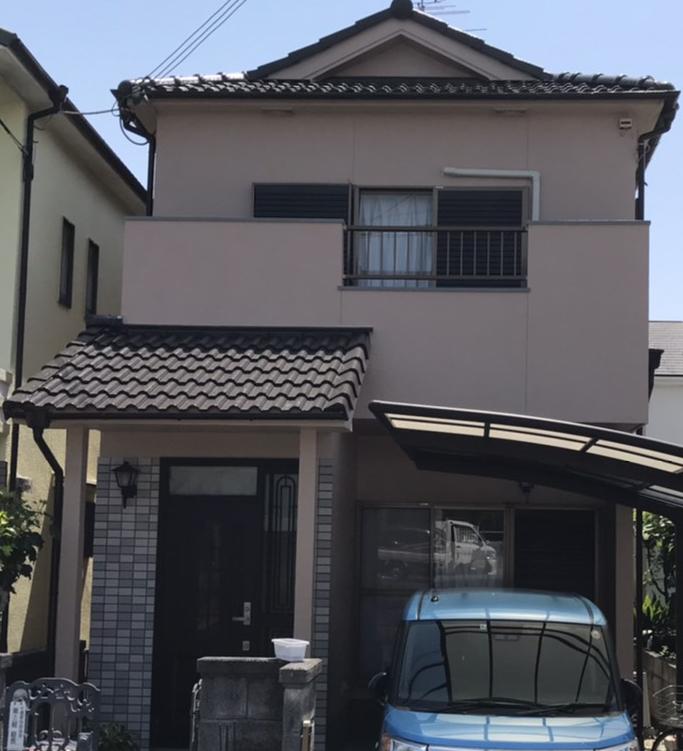 奈良北葛城郡上牧町Y様邸 外壁塗装・屋根塗装・防水工事 施工後の写真