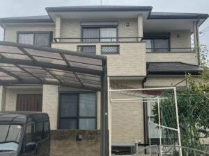 奈良北葛城郡広陵町M様邸 外壁塗装・屋根塗装・防水工事