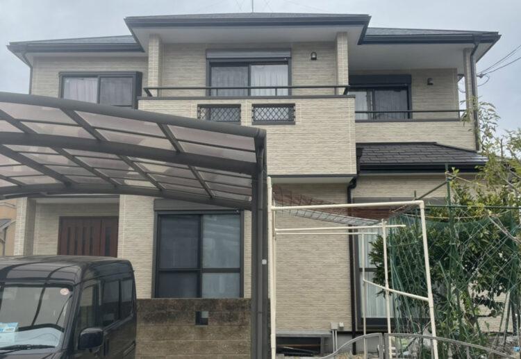 奈良北葛城郡広陵町M様邸 外壁塗装・屋根塗装・防水工事 施工後の写真