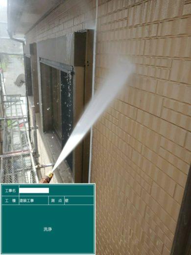奈良生駒郡三郷町T様邸 外壁塗装・屋根塗装・ベランダ防水工事 高圧洗浄