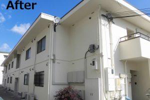 奈良県香芝市鎌田地区F様アパート 外壁塗装工事