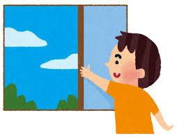 奈良の香芝市の株式会社ヨネヤの外壁塗装と屋根塗装の窓を開ける