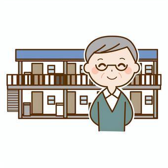 奈良の香芝市の株式会社ヨネヤの外壁塗装と屋根塗装のオーナー