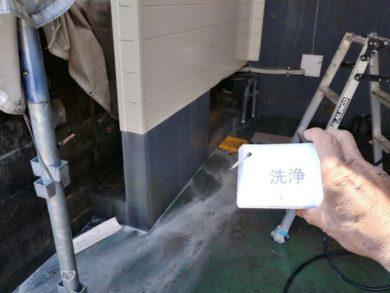 奈良葛城市O様 外壁塗装工事 高圧洗浄