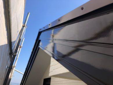 奈良香芝市N様 外壁塗装・屋根塗装・防水工事 破風フッ素仕上げ