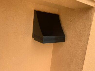 奈良北葛城郡王寺町S様邸 外壁塗装・防水工事 換気フードフッ素仕上げ