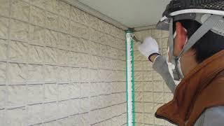 奈良の香芝市の株式会社ヨネヤの外壁塗装と屋根塗装の補修
