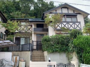 奈良県北葛城郡 T様邸 外壁・屋根・外塀塗装工事