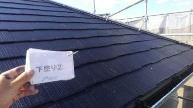 奈良桜井市N様 外壁塗装・屋根塗装 屋根塗装下塗り2回目