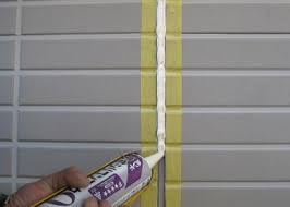 奈良の香芝市の株式会社ヨネヤの外壁塗装と屋根塗装のコーキングの増し打ち