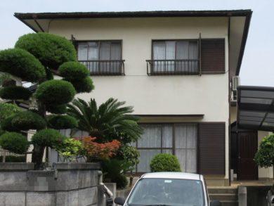 奈良県北葛城郡 S様邸 外壁塗装工事 施工前の写真