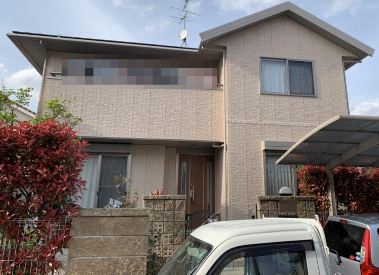 奈良北葛城郡広陵町T様邸 外壁塗装工事 施工後の写真