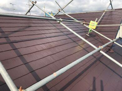 奈良香芝市Y様 外壁塗装・屋根塗装・防水工事 屋根塗装完了