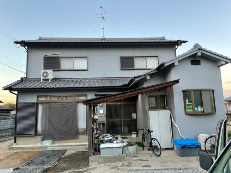 奈良香芝市F様 外壁塗装工事 施工後の写真