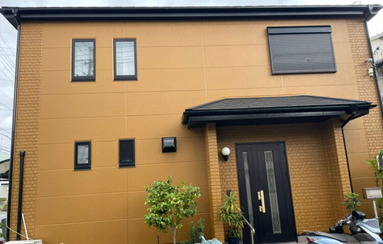 屋根塗装 プレミアムルーフ 施工後の写真
