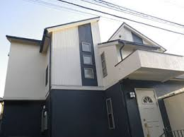 奈良の香芝市の株式会社ヨネヤの外壁塗装と屋根塗装のツヤがないお家の画像