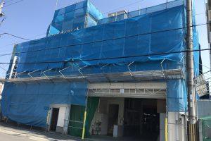 大阪府守口 工場外壁屋根塗装