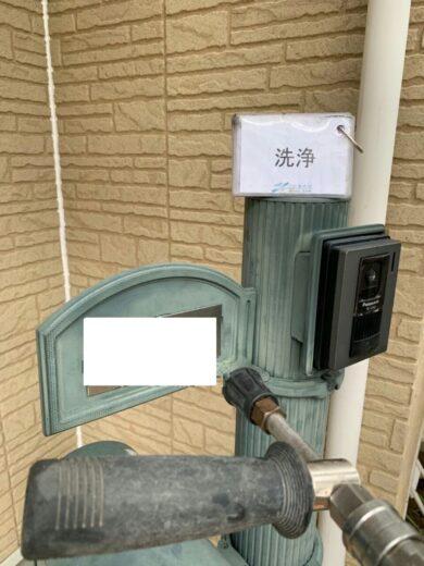 奈良香芝市K様 外壁塗装・屋根塗装・防水工事 高圧洗浄