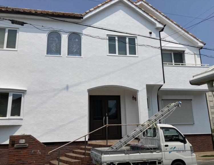 奈良香芝市Y様邸 外壁塗装・防水工事 施工後の写真