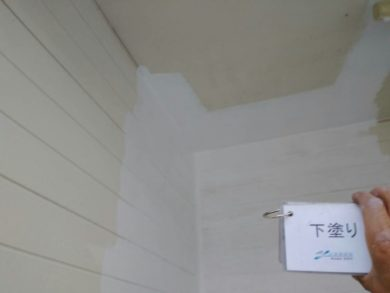 奈良葛城市O様 外壁塗装工事 外壁塗装 下塗り