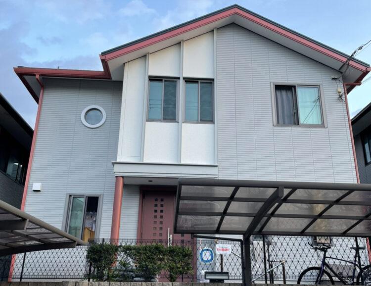 奈良香芝市S様邸 外壁塗装 施工後の写真