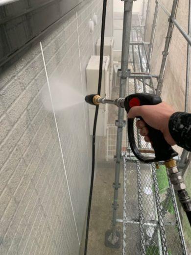 奈良生駒郡平群町K様邸 外壁塗装・屋根塗装 高圧洗浄